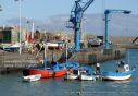 Wooden fishing boats at El Puerto de Orotava