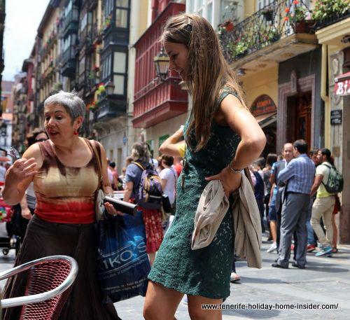 Spanish casual wear Bilbao