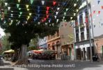 The party street of Santa Cruz de Tenerife during the day
