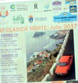 VI classic car race of Tenerife North of July 2017 a forerunner of the provincial and Canary Islands competitions.