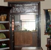 Cafeteria Grimaldi of Casa Lercara in La Orotava formerly popular for afternoon tea breaks or Spanish Merendas.