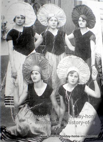 1920 carnival los Realejos
