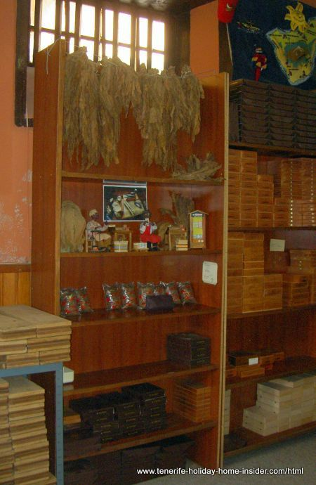 Tobacco shop of Arturo in Garachico