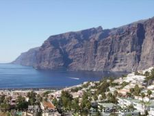 Tenerife town of ocean shore giants in the Santiago del Teide municipality