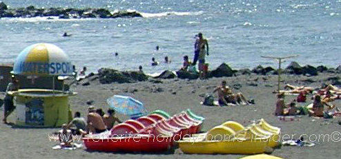 South tenerife beaches spain information with photos and videos