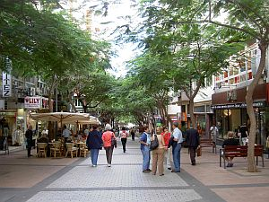 Shops in the Tenerife capital with its provincial looks and often laid back pace