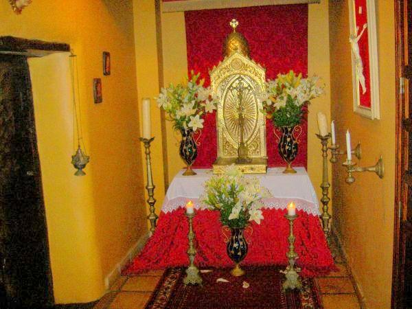 Abaco altar at Casa Grande at El Durazno.