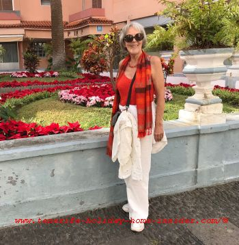 About me Gabriele the Tenerife holiday home insider in Puerto de la Cruz in December 2019