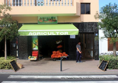 Agricultor farmer shop of Toscal a Tenerife market in its own right