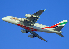 Airbus 380 for cheap and other flights