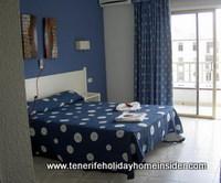 airport hotel bedroom in Tenerife