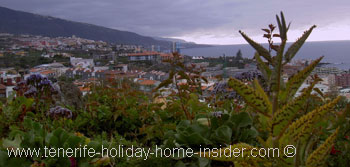 Alberto Bar  day views to a Puerto de la Cruz panorama from Taoro Park