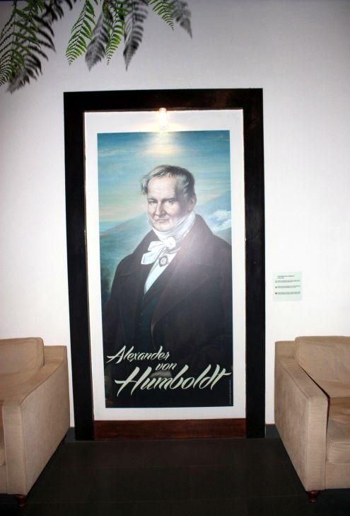 Alexander von Humboldt a celebrity that stayed at the hotel of Calle Quintana, 11 of Puerto de la Cruz.