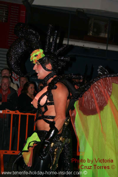 Amazon costume of gay parade