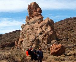 Santa Cruz Anaga Mountains hikers