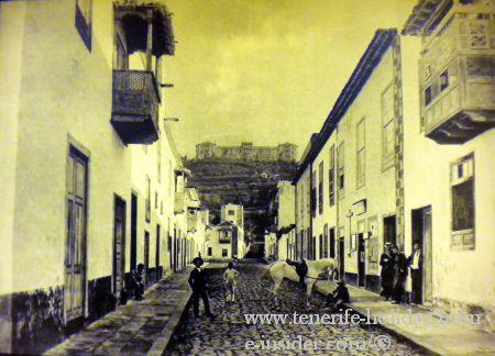 anicent calle San Juan Puerto Cruz