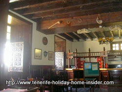 Former antique bar in an ancient Puerto de la Cruz hotel in Calle Quintana, 11.