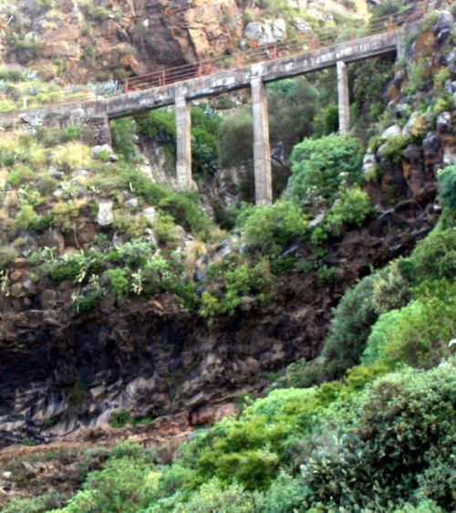 Aquaduct Barranco Pino La Orotava.