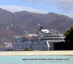 Armas Ferry by Plaza Espana Tenerife