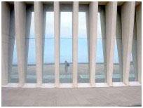 Auditorio de Tenerife mirrors outside