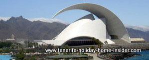 Auditorio Santa Cruz de Tenerife Spain