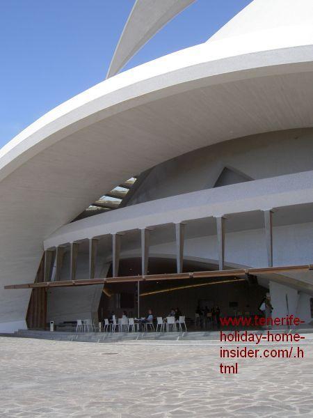 Auditorium bar restaurant Tenerife capital