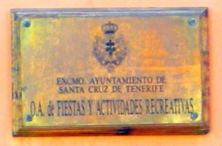 Autonomous agency of Tenerife Fiestas a department of the Santa Cruz townhall.