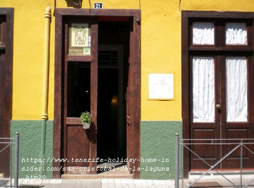 B&B La Laguna accommodation in its old quarters (hostel type)Calle Juan de Vera 21 at 38201 La Laguna Tel 34822173608www.bblaguna.com/en/ to rest your head