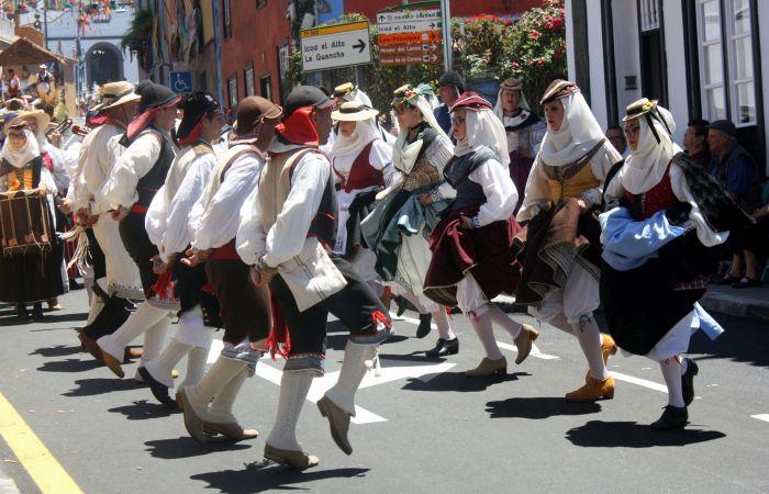 Baile Taifas Fuerteventura Los Realejos Romeria 2017