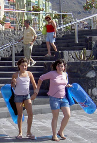 Young Tenerife Bajamar girls