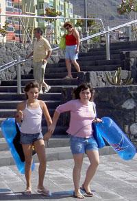 Young Tenerife Bajamar girls