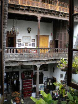 Casa de los Balcones Tenerife balconies La Orotava.