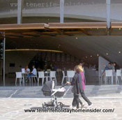 Bar Auditorio Tenerife Adan Martin with veranda