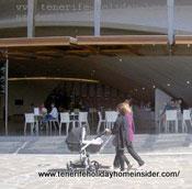 Bar Auditorio Tenerife Adan Martin with veranda
