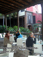 Bar Casa Lercaro Tenerife with patio bar in XVII century mansion