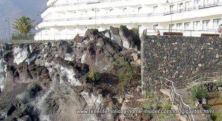 Barcelo Hotel on rocks