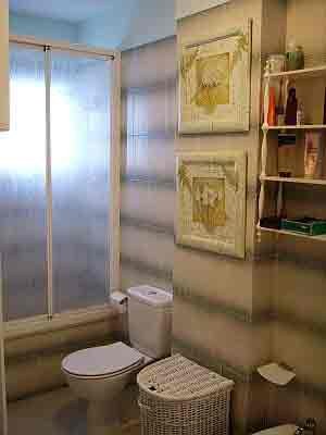 Bath Los Gigantes apartment with full bath and shower cubicle
