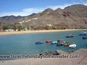 beach jetty Teresitas Santa Cruz de Tenerife