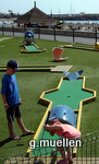 Beach mini-golf
