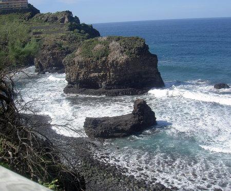 Beach of the rocks of Los Relejos