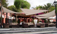 Beach sofa cafe Hotel Mirador Duque Tenerife South