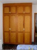 Master bedroom wardrobe apartment Toscal Longuera 01