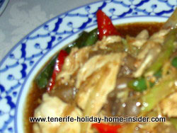 Beef Massaman Thai food ruen thai restaurant