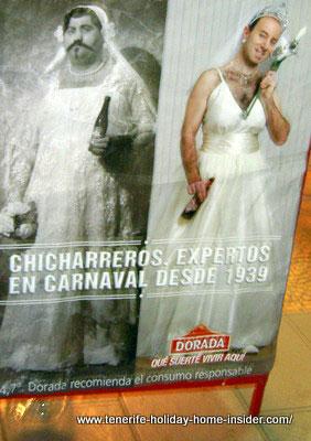 Beer advertisement  in Tenerife