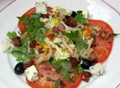 best Tapas mixed salad by chef Richard Etherington