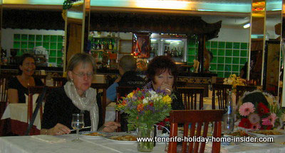 birthday party at Restaurant Ruen Thai Tenerife