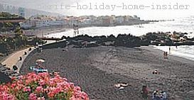 Black beaches Playa Jardin Tenerife