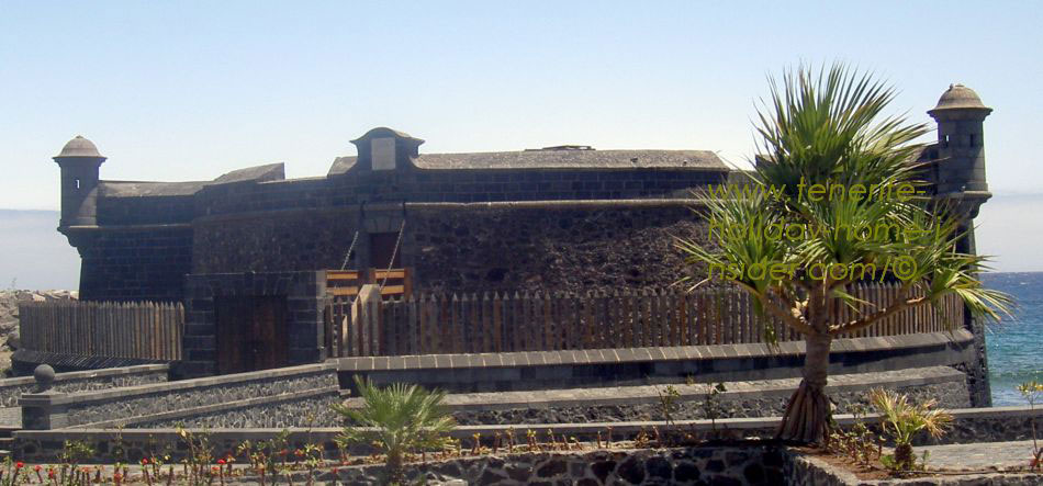black fort of Tenerife capital