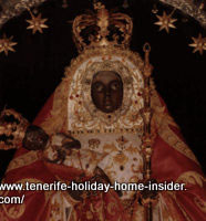 Black Madonna Tenerife Candelaria of cavemen and modern adoration