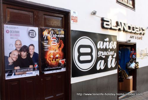 Blanco Bar of Tenerife North in Puerto de la Cruz.
